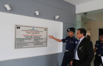 Visit to Sardah Police Academy on 14 March 2019