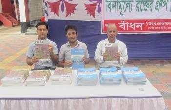 Blood Donation Camp on Gandhi@150