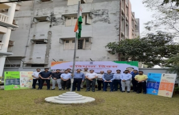 Celebrating #ConstitutionDay of India on 26 November 2019 at Rajshahi in Bangladesh.