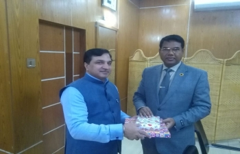 The Assistant High Commissioner of India met the Divisional Commissioner of Rangpur on 13.01.2020.