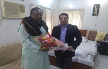 Met with Commerce Minister of Bangladesh